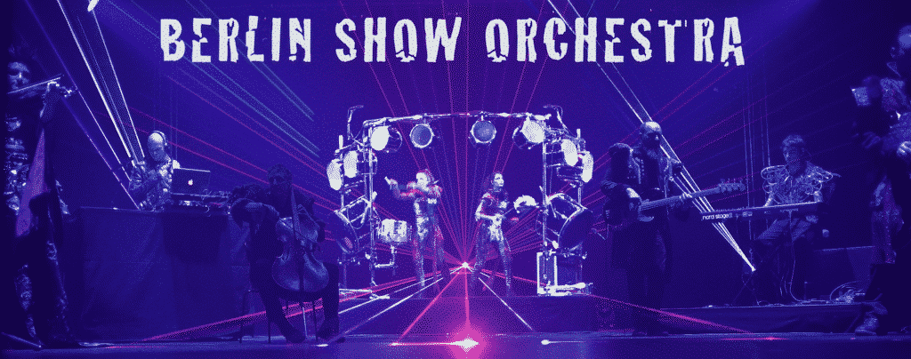 Berlin Show orchestra Lasershow