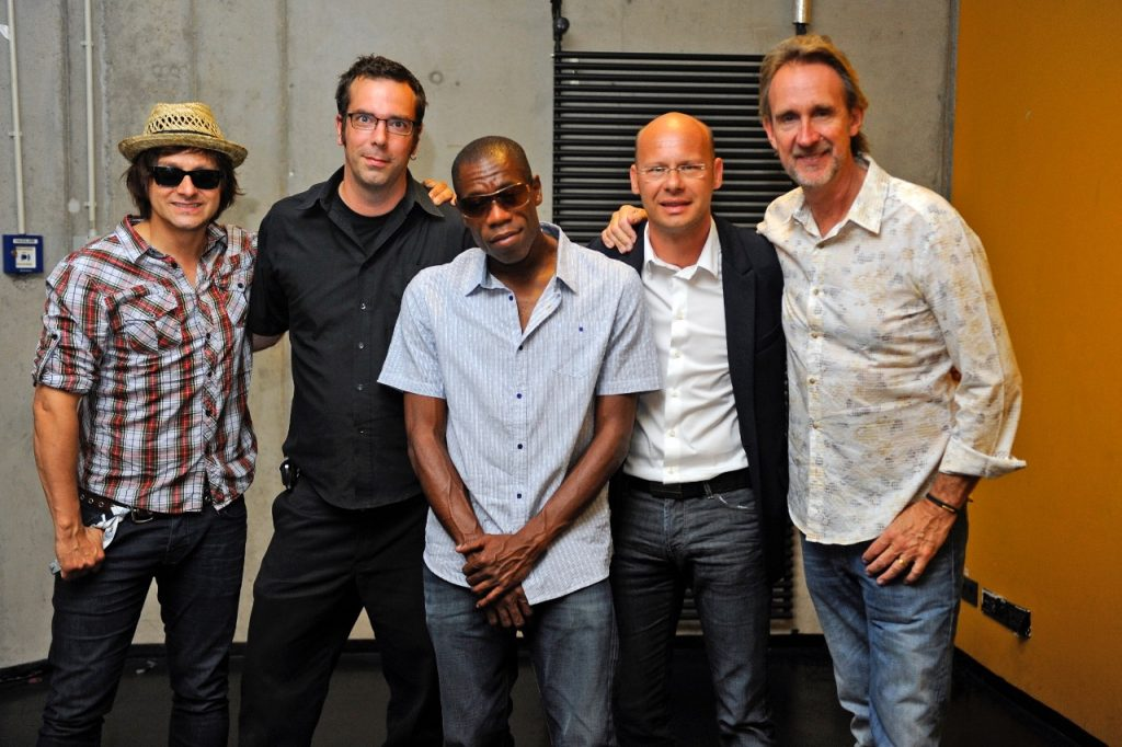 Stefan Lohmann mit Mike and The Mechanics