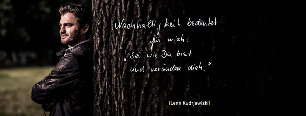 Lenn Kudrjawizki Gesichter der Nachhaltigkeit