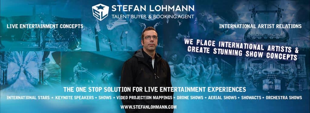 Stefan Lohmann Künstlervermittlung und Live Entertainment Experte