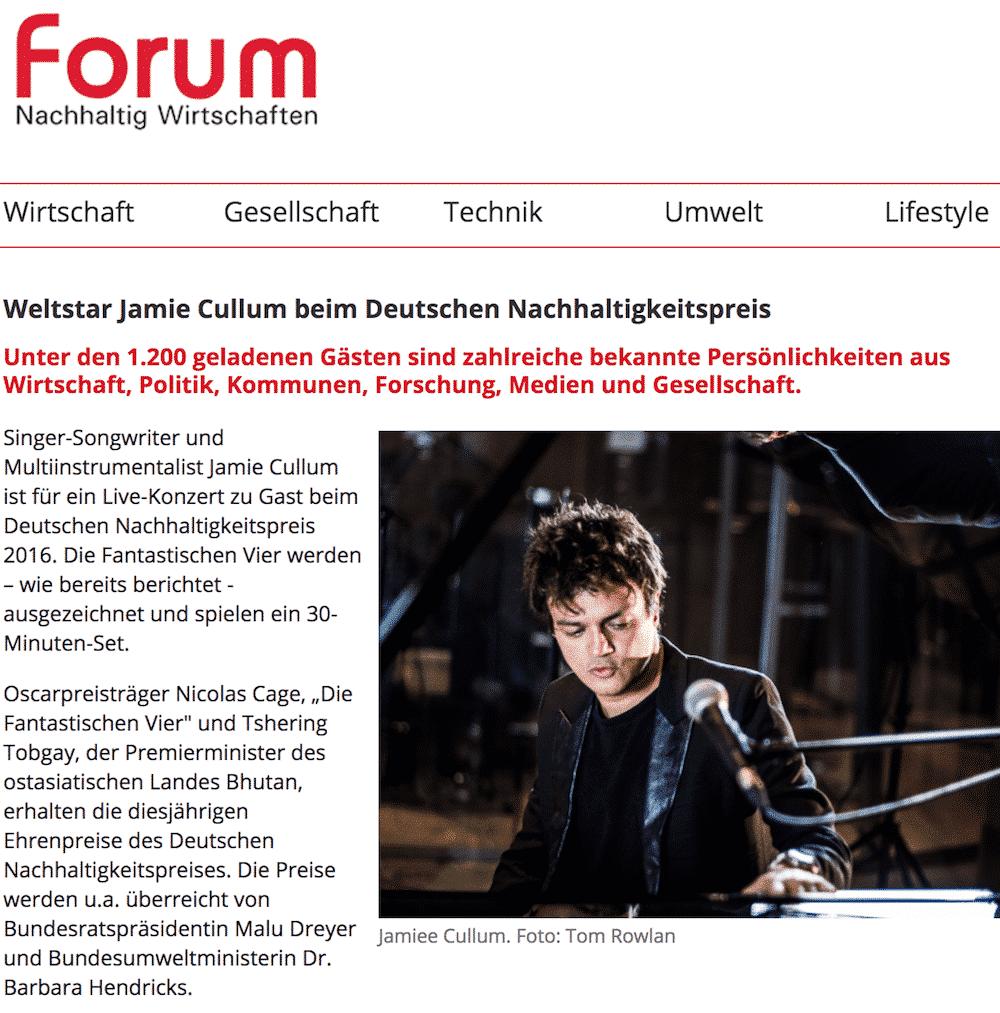 Stefan Lohmann sorft für nachhaltige Kontakte zu den Stars