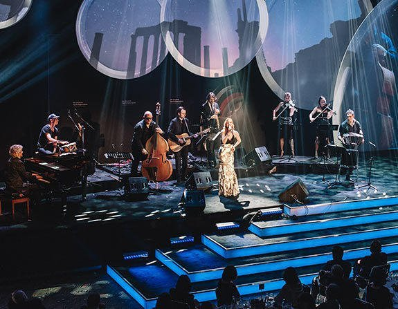 Weltstar Ute Lemper mit dem Berlin Show Orchestra visit Berlin