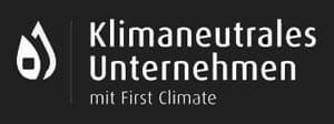 Logo Klimaneutrales Unternehmen