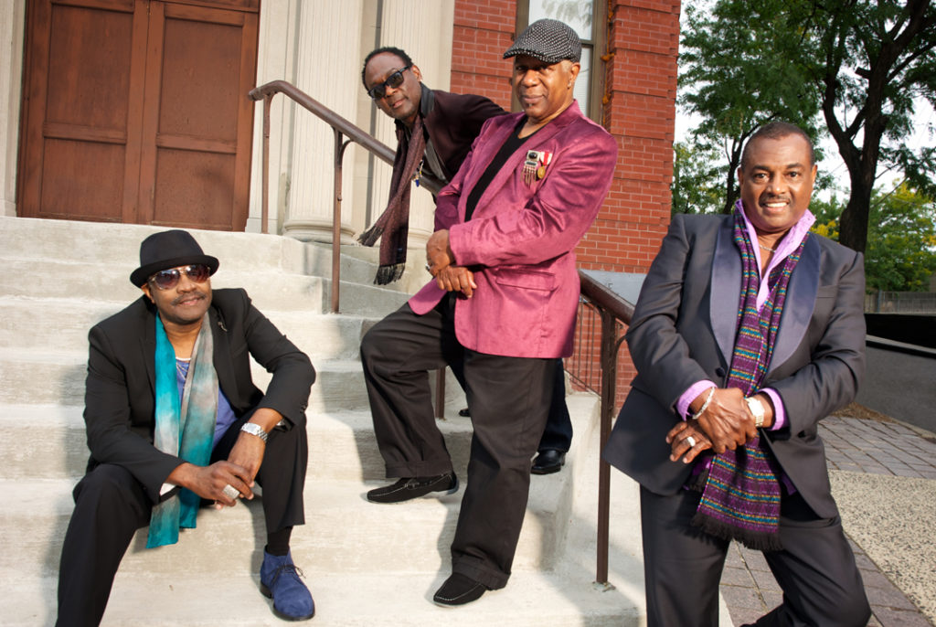 Kool & The Gang Bookinf und Künstler Information From left to right - Ronald Bell, George Brown, Dennis Thomas, Robert Bell 1000x700