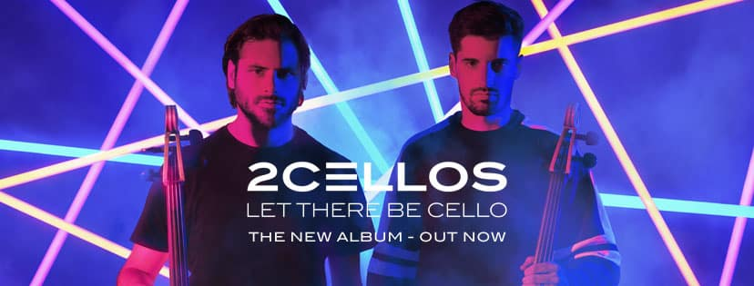 Cover 2 Cellos Let there be Cellos