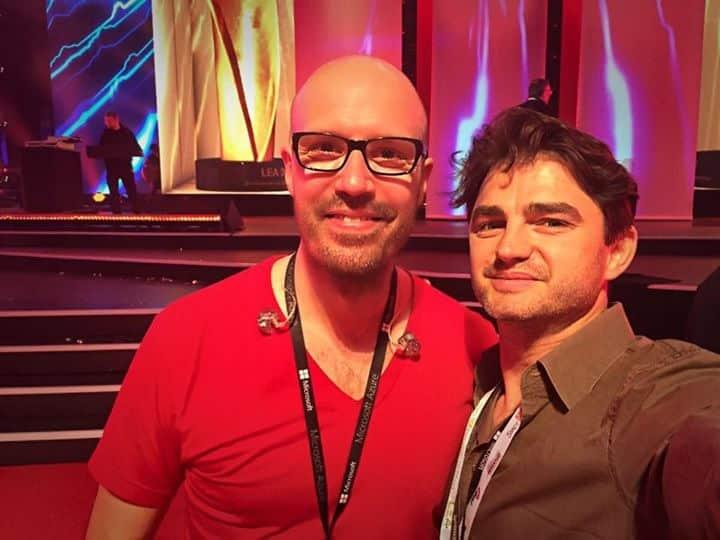 Schiller und Lenn Kudrjawizki beim Live Entertainment Award in Frankfurt