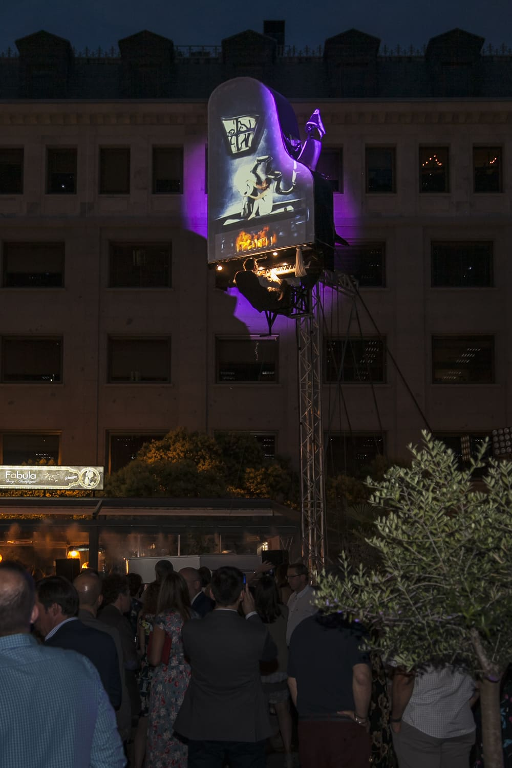 Event Ideen Aerial Piano - BT - Creartys