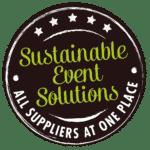 Nachhaltigkeitsstrategie - Sustainable Event Solutions Logo
